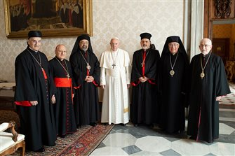 Mideast patriarchs tell Pope they're concerned about Christian survival