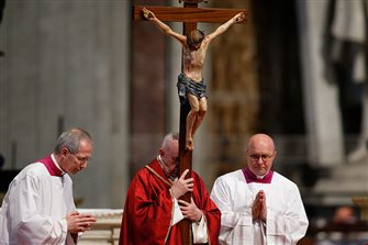 Vatican releases Pope's Lent, Holy Week, Easter schedule