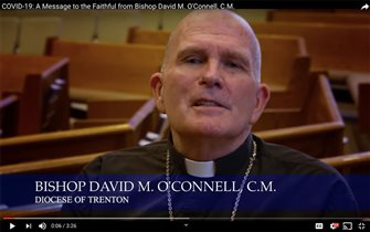 Bishop O'Connell a steady public presence during pandemic