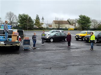 Tabernacle, Hightstown parishioners feed the hungry