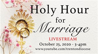Holy Hour for Marriage, special web resources planned for couples celebrating milestone anniversaries