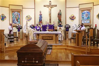 Father Rocco A. Cuomo recalled as 'true prophet' during funeral Mass
