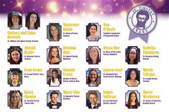 16 teens honored with Diocese's St. Timothy Awards